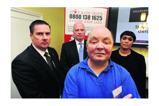 Victims back new campaign to target hate crimes in Oxfordshire cover image