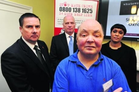 Victims back new campaign to target hate crimes in Oxfordshire -