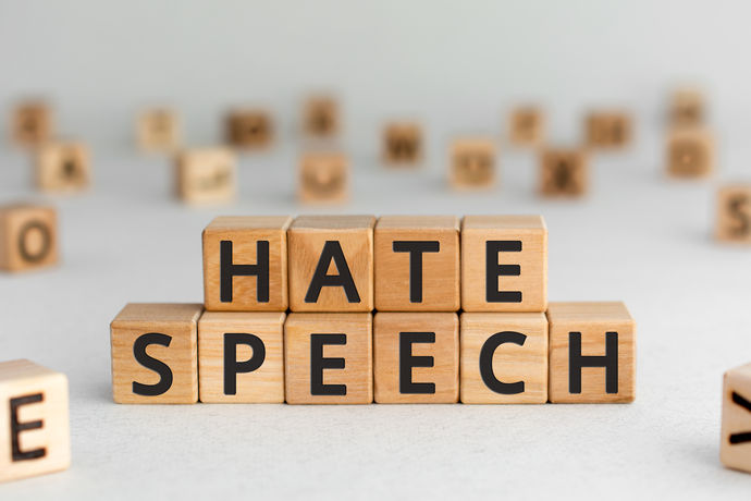 Report online hate material to the police