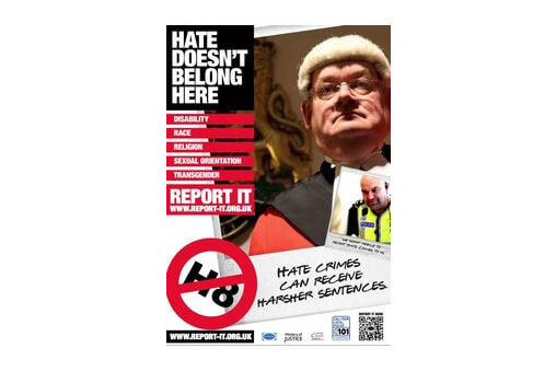 Press Release - National Poster Campaign launched by True Vision and Preston Hate Crime Partnership cover image