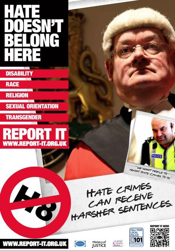 Press Release - National Poster Campaign launched by True Vision and Preston Hate Crime Partnership -