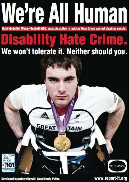information advice hate crime personal stories
