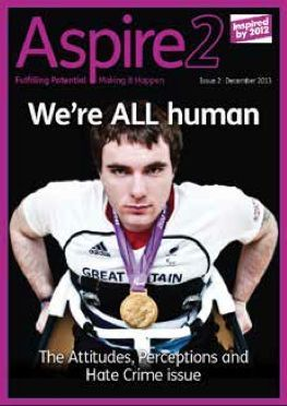 Minister for Disabled People releases Online Magazine to highlight Disability Hate Crime - Aspire2