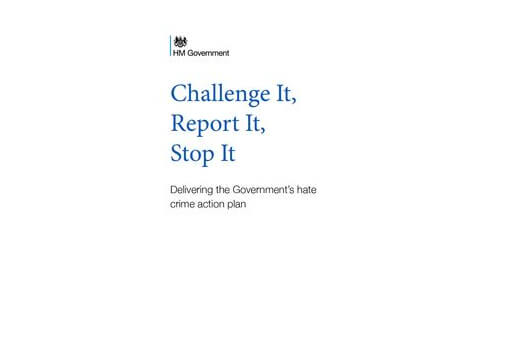 Government Launches Update to Hate Crime Action Plan cover image