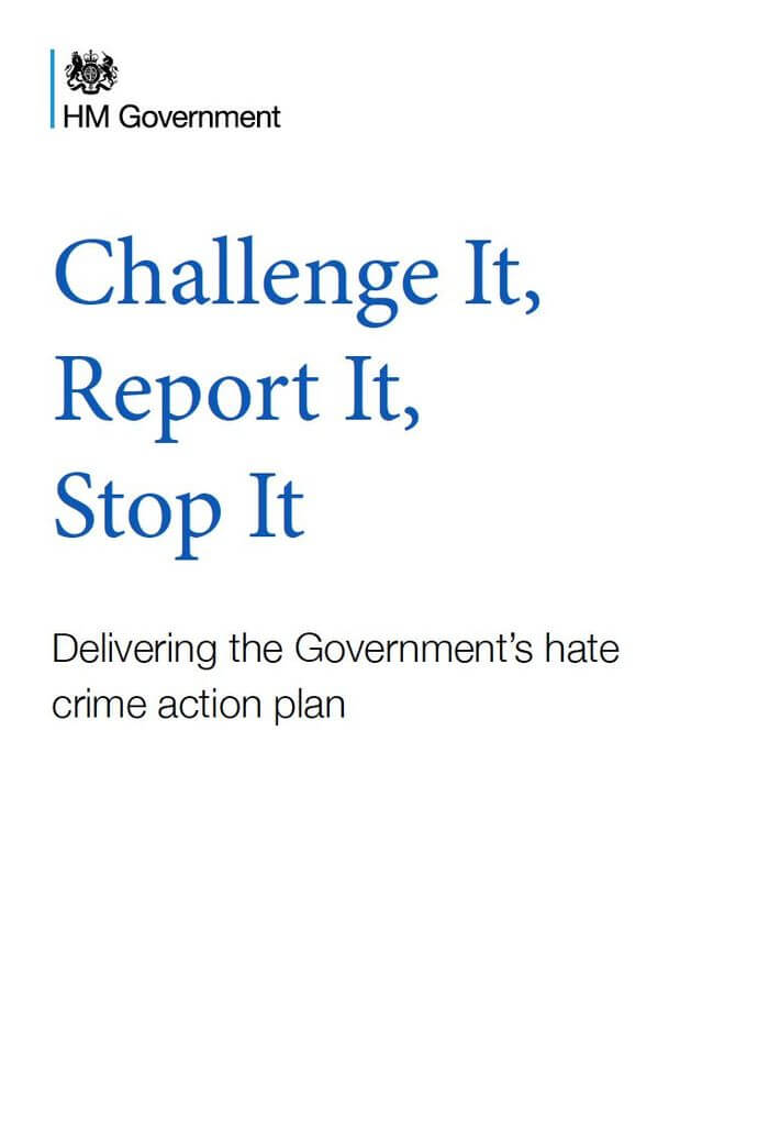 Government Launches Update to Hate Crime Action Plan -