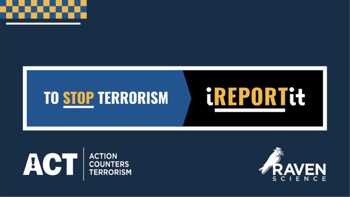 National Public Referral Tool for Counter Terrorism Internet Referral Unit - The iREPORTit App image #1